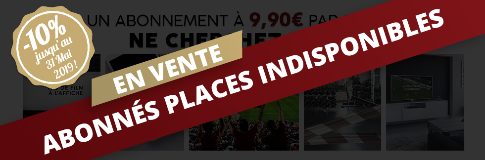 Abo places indisponibles 31mai2019