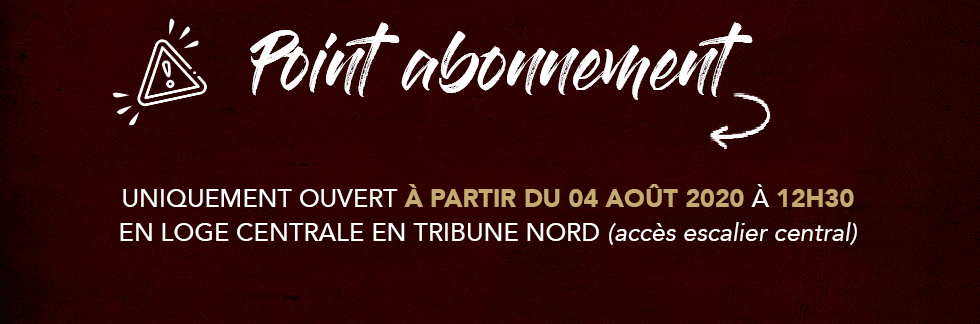 POINT ABONNEMENT 20.21
